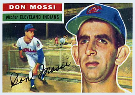 1956 Topps Don Mossi #39 Baseball Card