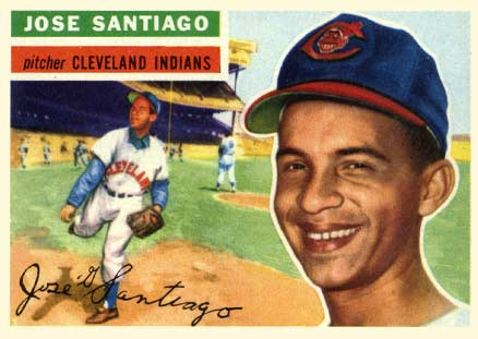 1956 Topps Jose Santiago #59 Baseball Card