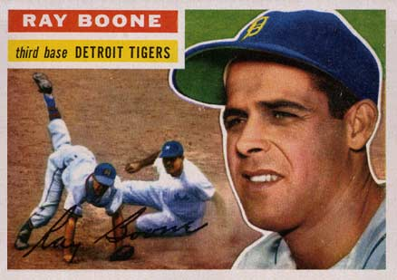 1956 Topps Ray Boone #6 Baseball Card