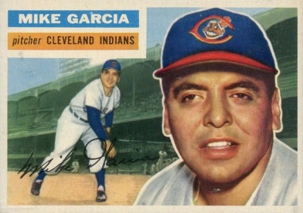 1956 Topps Mike Garcia #210 Baseball Card