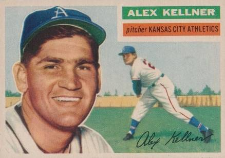 1956 Topps Alex Kellner #176 Baseball Card