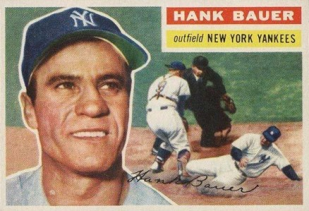 1956 Topps Hank Bauer #177 Baseball Card