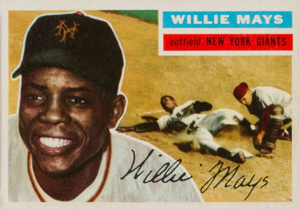 1956 Topps Willie Mays #130 Baseball Card