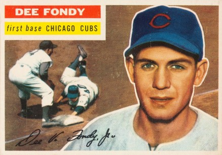 1956 Topps Dee Fondy #112 Baseball Card