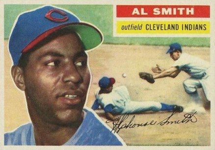 1956 Topps Al Smith #105 Baseball Card