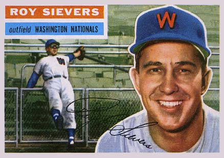 1956 Topps Roy Sievers #75 Baseball Card