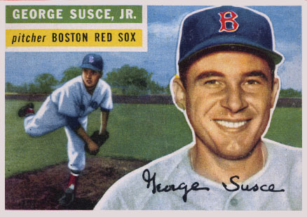 1956 Topps George Susce Jr. #93 Baseball Card