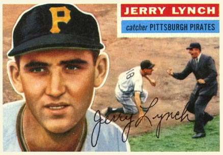 1956 Topps Jerry Lynch #97 Baseball Card