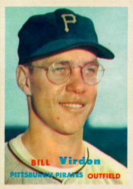 1957 Topps Bill Virdon #110 Baseball Card
