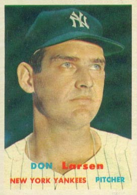 1957 Topps Don Larsen #175 Baseball Card