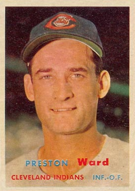 1957 Topps Preston Ward #226 Baseball Card