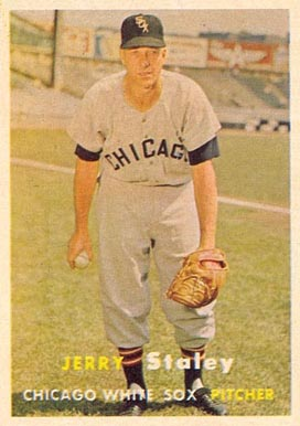 1957 Topps Gerry Staley #227 Baseball Card