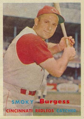 1957 Topps Smoky Burgess #228 Baseball Card