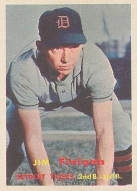 1957 Topps Jim Finigan #248 Baseball Card