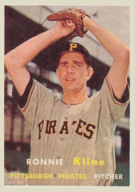 1957 Topps Ron Kline #256 Baseball Card