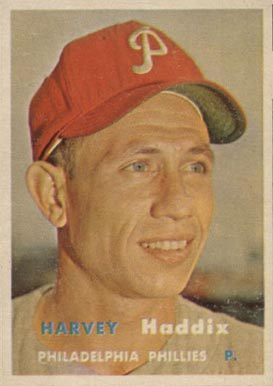 1957 Topps Harvey Haddix #265 Baseball Card