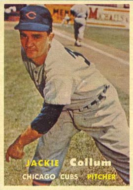 1957 Topps Jack Collum #268 Baseball Card