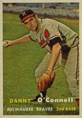 1957 Topps Danny O'Connell #271 Baseball Card