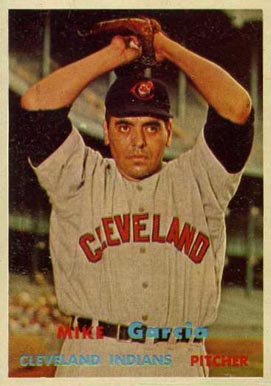 1957 Topps Mike Garcia #300 Baseball Card