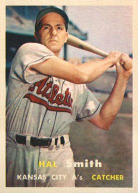 1957 Topps Hal W. Smith #41 Baseball Card