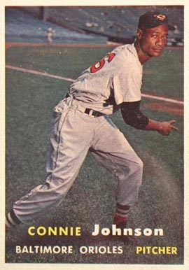 1957 Topps Connie Johnson #43 Baseball Card