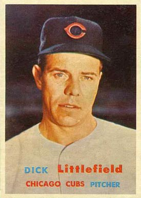 1957 Topps Dick Littlefield #346 Baseball Card
