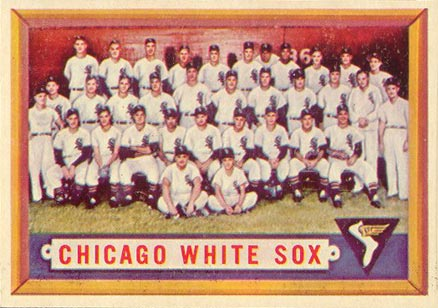 1957 Topps Chicago White Sox Team #329 Baseball Card