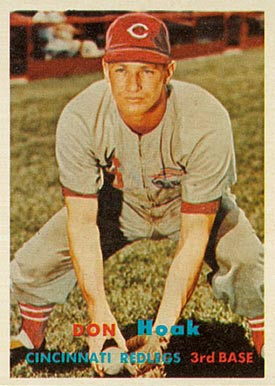 1957 Topps Don Hoak #274 Baseball Card