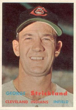 1957 Topps George Strickland #263 Baseball Card