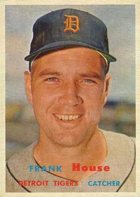1957 Topps Frank House #223 Baseball Card