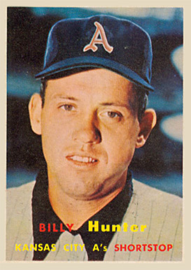 1957 Topps Billy Hunter #207 Baseball Card