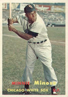 1957 Topps Minnie Minoso #138 Baseball Card