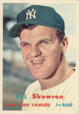 1957 Topps Bill Skowron #135 Baseball Card