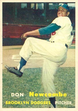 1957 Topps Don Newcombe #130 Baseball Card