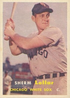 1957 Topps Sherman Lollar #23 Baseball Card