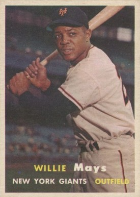 1957 Topps Willie Mays #10 Baseball Card