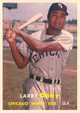 1957 Topps Larry Doby #85 Baseball Card
