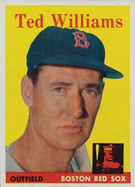 1958 Topps Ted Williams #1 Baseball Card