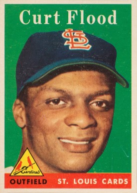 1958 Topps Curt Flood #464 Baseball Card
