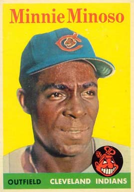 1958 Topps Minnie Minoso #295 Baseball Card