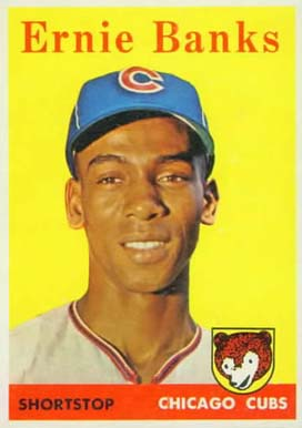 1958 Topps Ernie Banks #310 Baseball Card