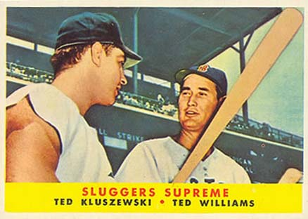 1958 Topps Ted Williams #321 Baseball Card