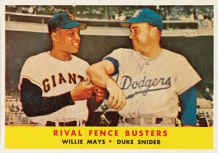 1958 Topps Willie Mays #436 Baseball Card