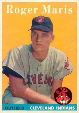 1958 Topps Roger Maris #47 Baseball Card