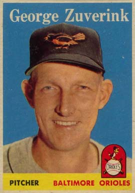 1958 Topps George Zuverink #6 Baseball Card