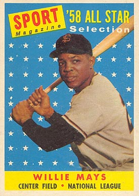 1958 Topps Willie Mays #486 Baseball Card