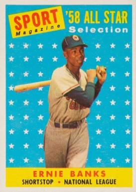 1958 Topps Ernie Banks #482 Baseball Card