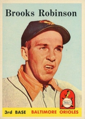 1958 Topps Brooks Robinson #307 Baseball Card