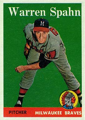 1958 Topps Warren Spahn #270 Baseball Card