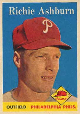 1958 Topps Richie Ashburn #230 Baseball Card